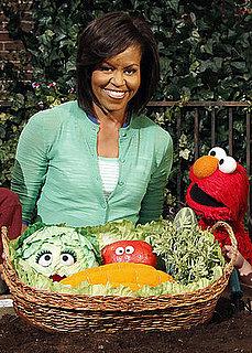 Michelle Obama & Elmo