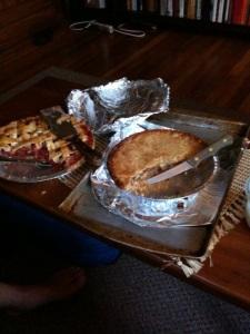 Strawberry Rhubarb and Mock Apple Pie
