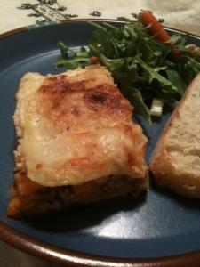 Butternut and Hazelnut Lasagna