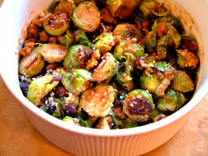 Fig Brussels sprouts