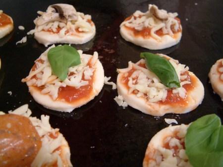 readyto bake mini Pizzas