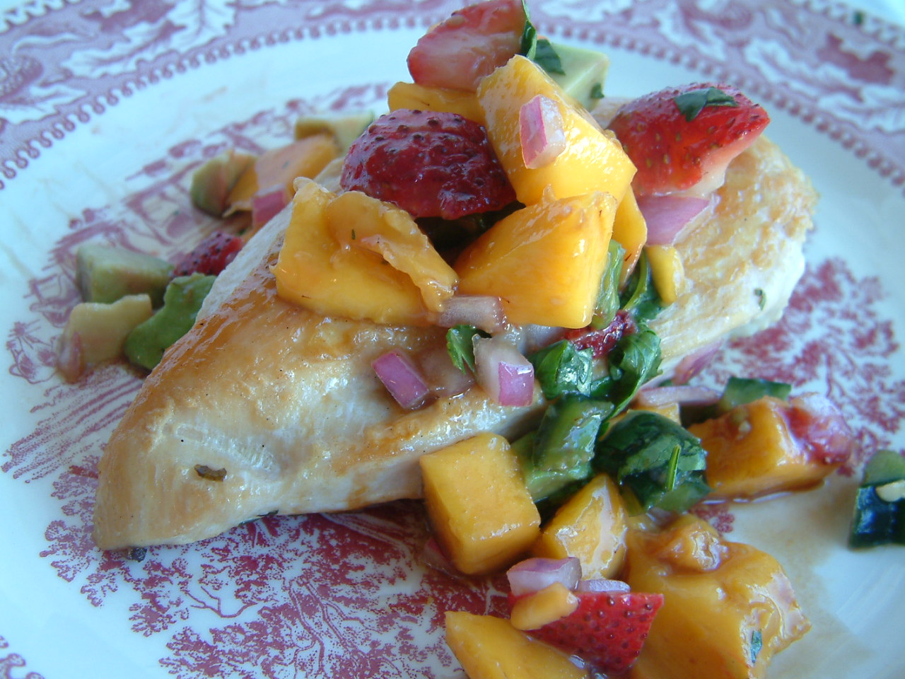 Strawberry mango salsa | Kitchen Report