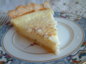 custard pie piece