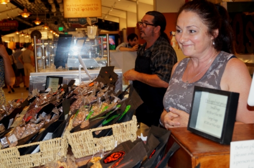 Q's Nuts of Somerville, Mass., offers sweet, savory, and spicy roasts of nut varieties. My favorite: chocolate lavender almonds!
